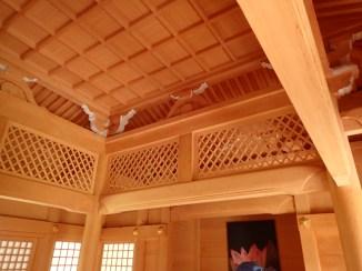 Inside of the shrine