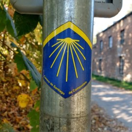 'Via Monastica', één van de vijf Pelgrimspaden naar Frankrijk