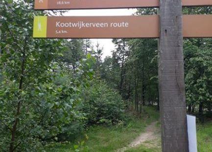 Uiteraard liepen we de oranje route :-)
