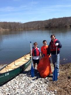 2016 Michael Murphy, Joe DiDomenico, Brian Murphy canoe
