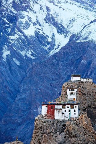 Dhankar Monastry in Spiti Valley