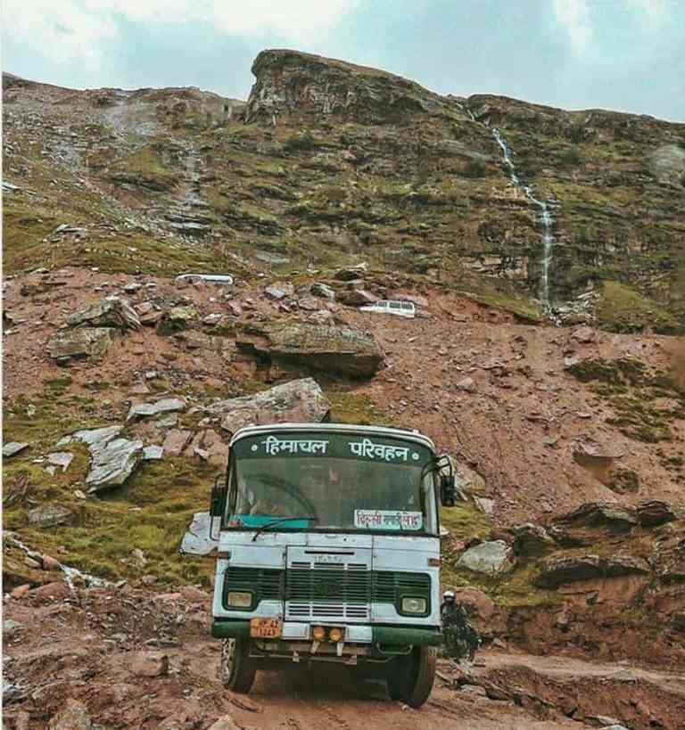 Kaza-Spiti-Valley-hrtc-bus-Hikesdaddy