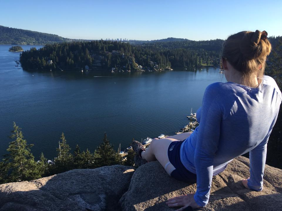 quarry rock hiking trail, north vancouver, deep cove, north shore, baden powell, hikes near vancouver