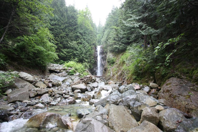 norvan falls, lynn headwaters regional park, hikes near vancouver, north vancouver hiking trails