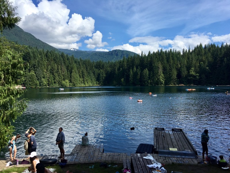 hikes near vancouver, swimming holes near vancouver, cat lake, squamish