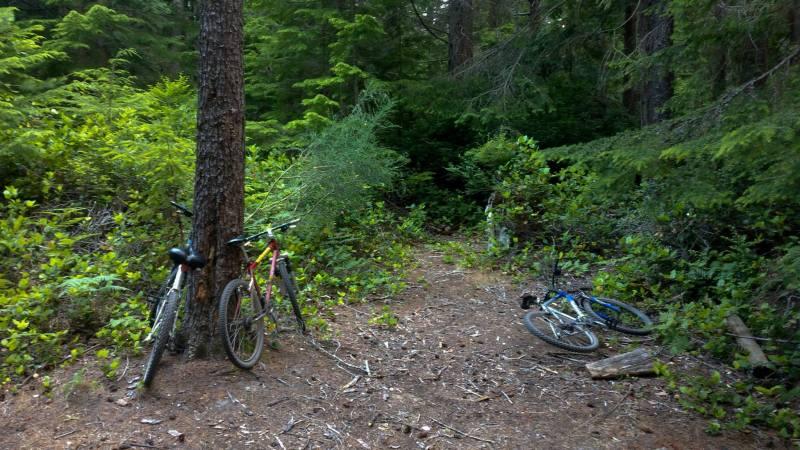 biking savary island bc