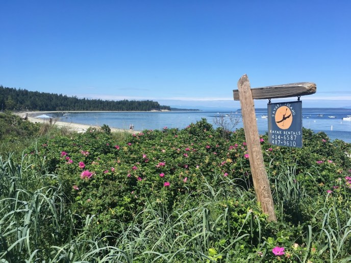 savary island kayak rental