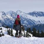 brockton point, hikes near vancouver, snowshoeing, mount seymour, north shore snowshoeing trails, microspikes, kahtoola, crampon