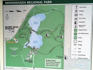 Minnekhada Regional Park trail map, high knoll hiking trail, hikes near vancouver