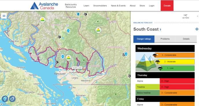 avalanche canada, avalanche training course vancouver, hikes near vancouver, intro to snowshoeing, snowshoeing for beginners