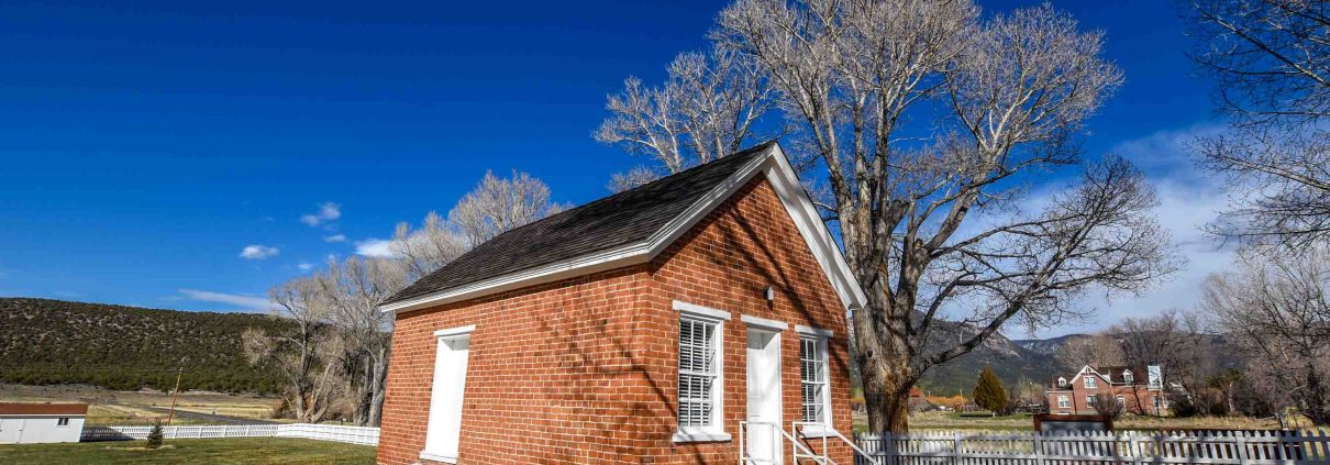 a heritage house in Pine Valley, Utah