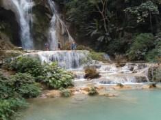 Tad Kuang Xi Wasserfälle