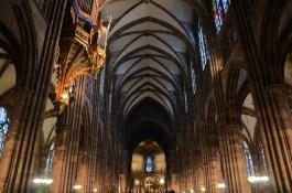 Schwalbennestorgel im Straßburger Münster