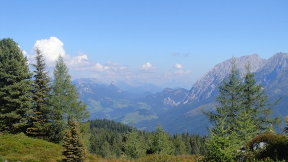 view from the top of Hochmuhlech
