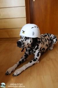 Jamiko mit Helm