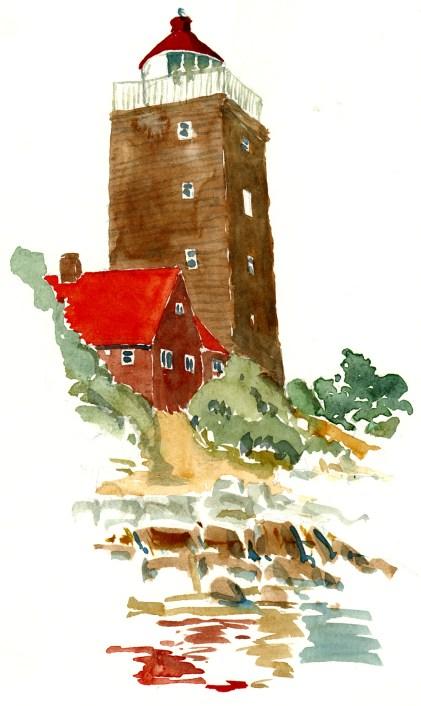 Lighthouse at Svaneke