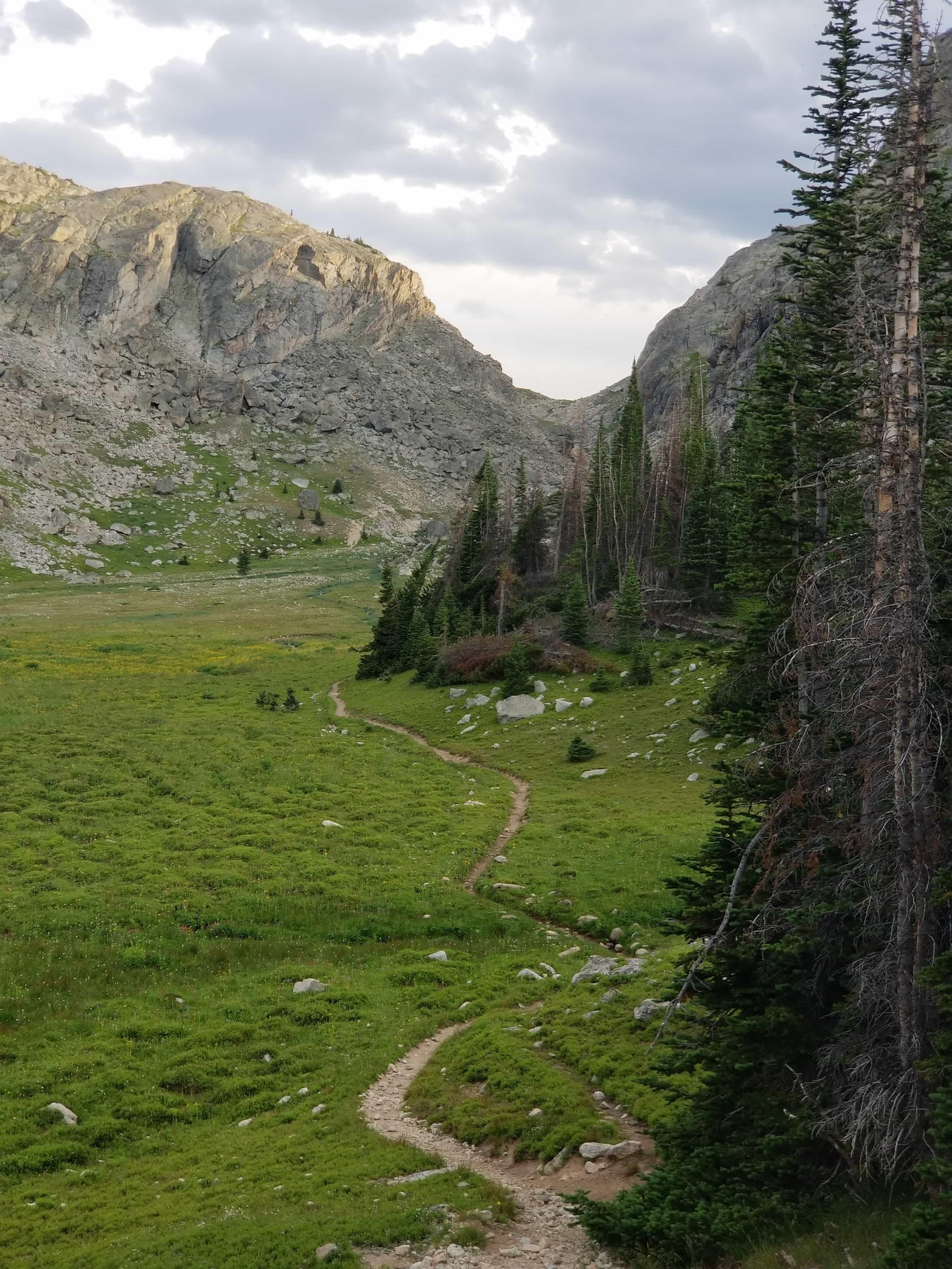 Geneva Pass, Solitude Trail 038, Wyoming