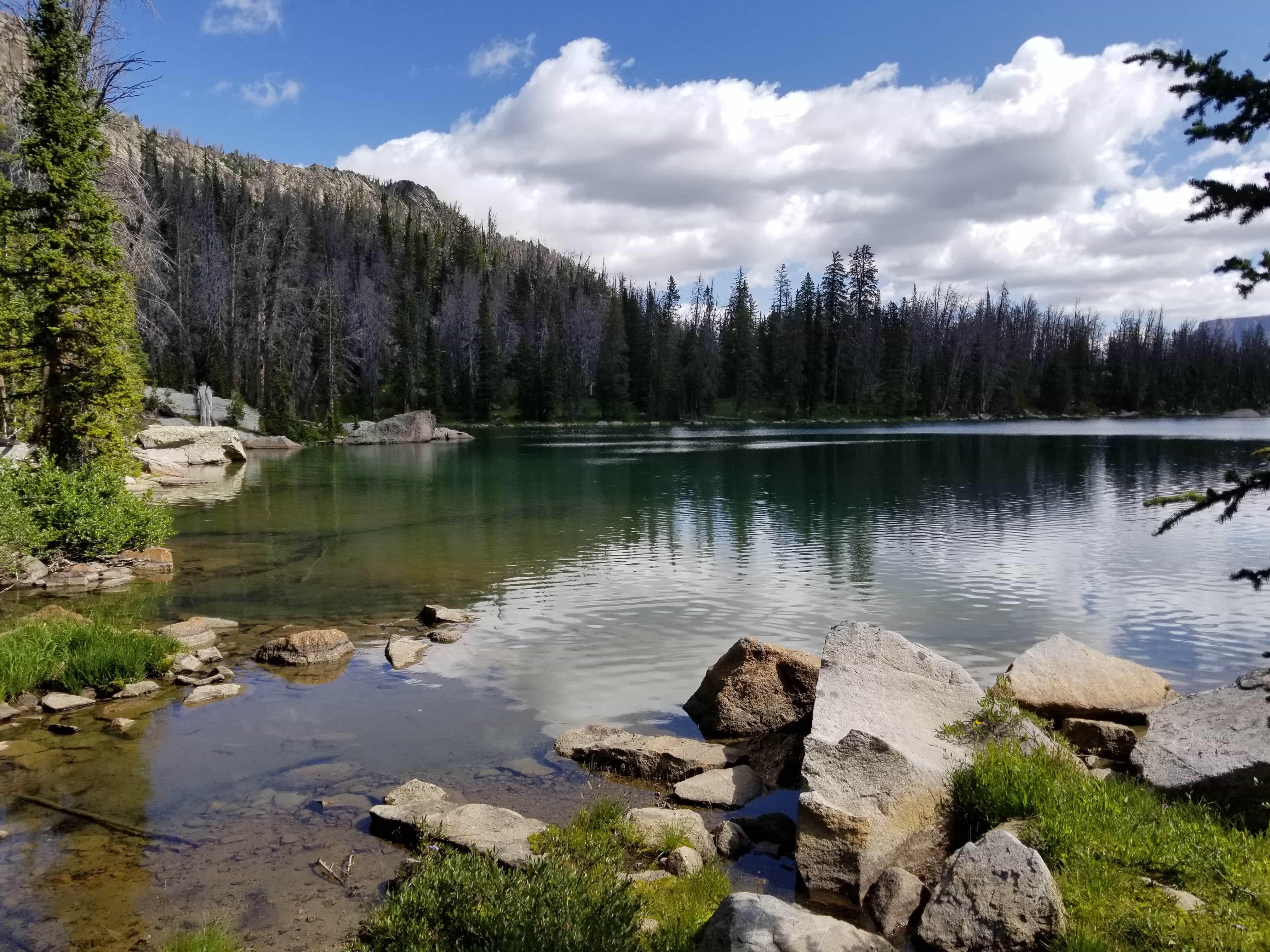 Shirley Lake, Wyoming, Wind River Range