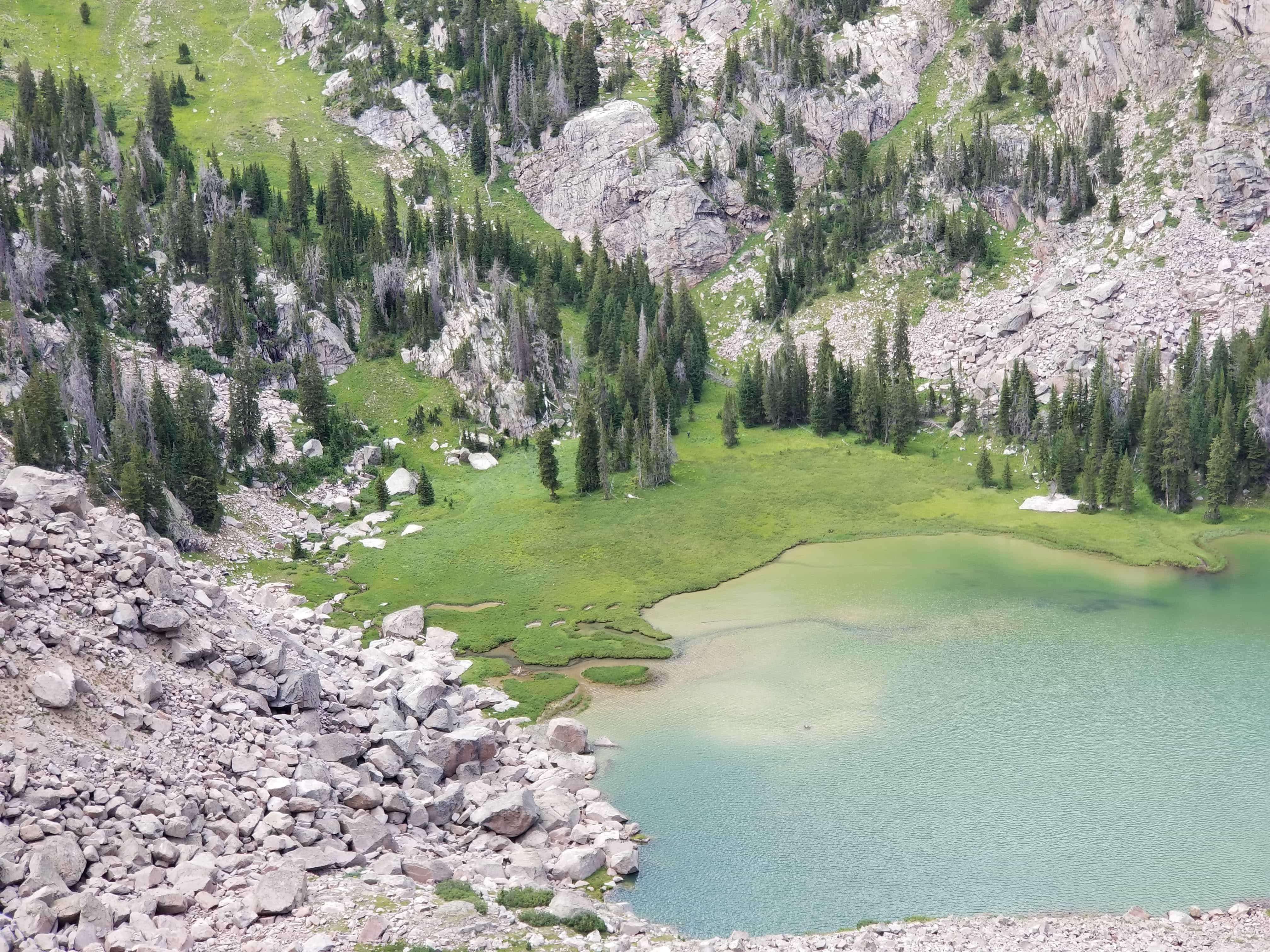 Valaite Lake, Wyoming, Wind River Range