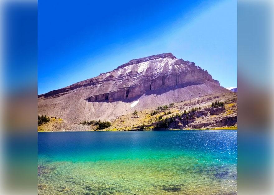 Brewster lake, Wyoming, Gros Ventre Wilderness