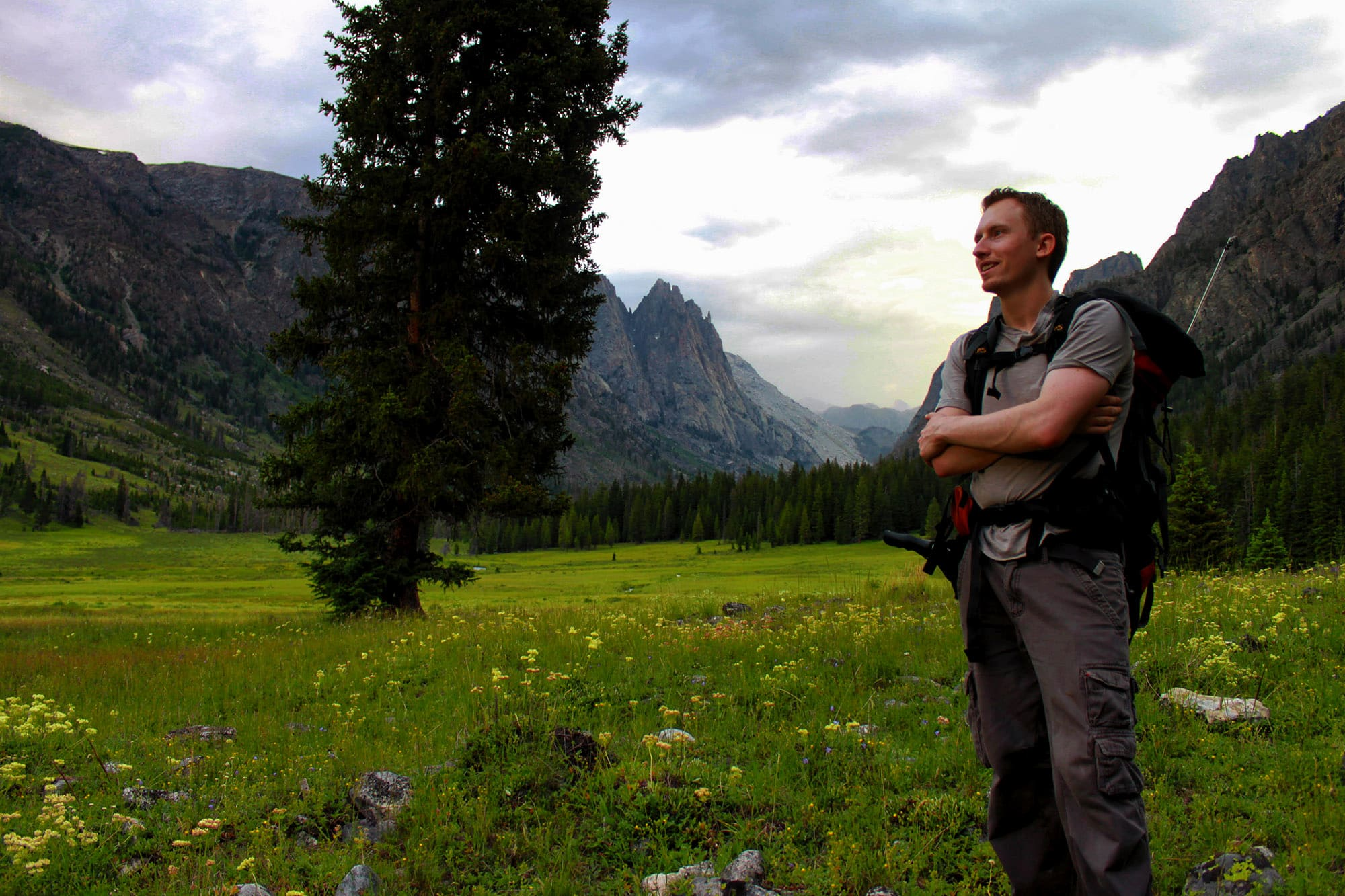 Lucas Necessary hiking