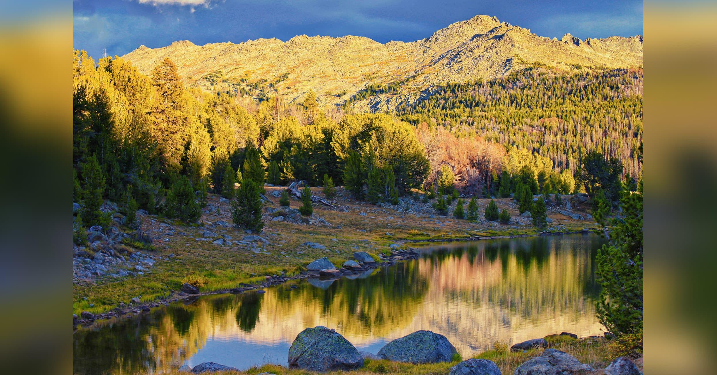 Mirror Lake, Wind River Range, Wyoming