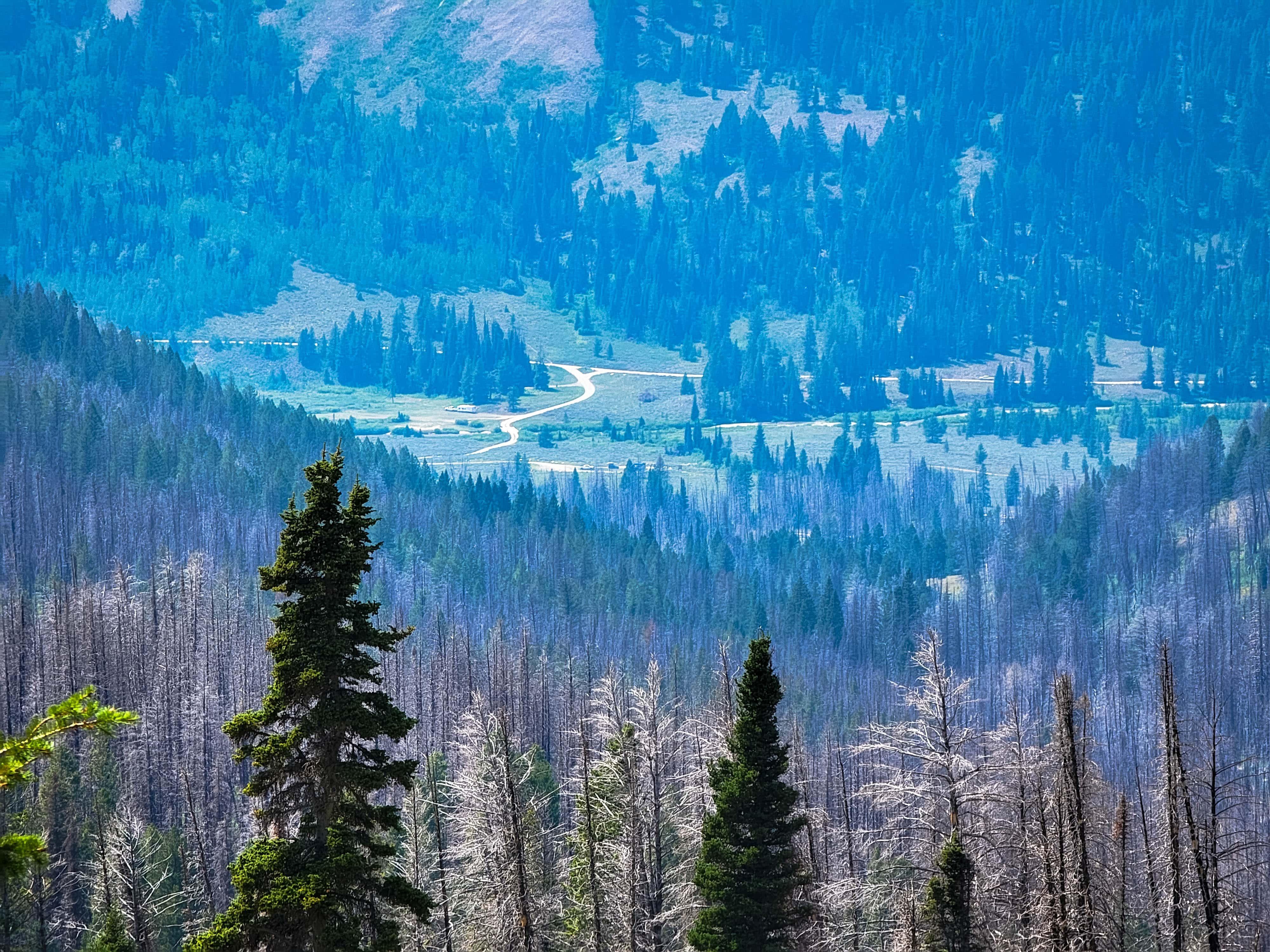 Macleod Lake Trailhead, Wyoming