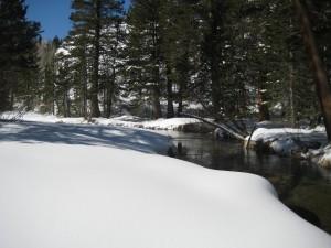 Winter snowshoeing trip in the John Muir Wilderness