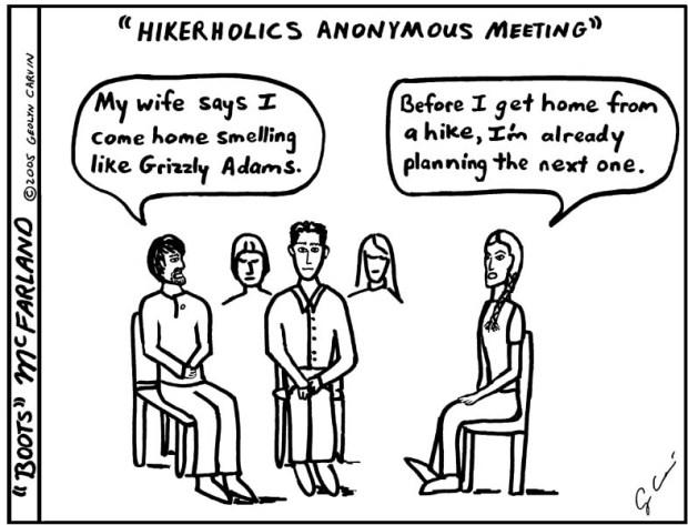 Hikerholics Anonymous Meeting #2