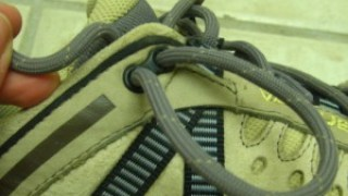How to Lace Trail Shoes/Low Top Hiking Shoes to Prevent Heel Blisters