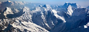 Everest aerial view