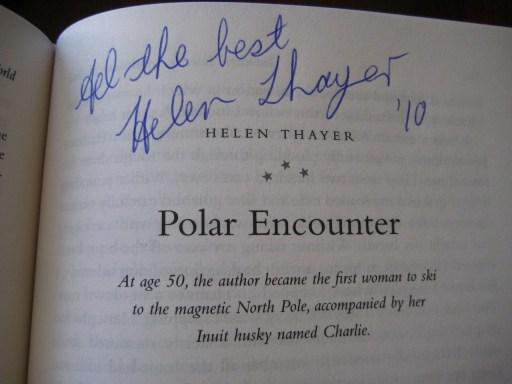 Helen Thayer Polar Encounter