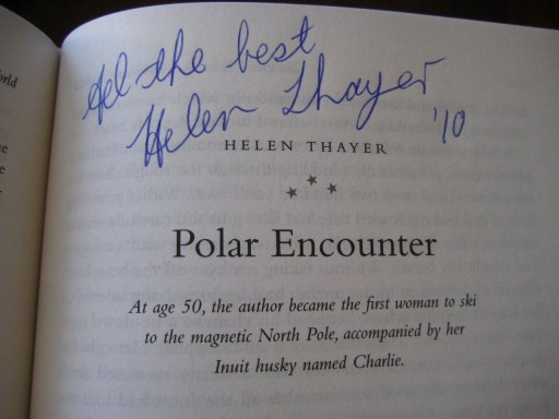 Helen Thayer Polar Encounter