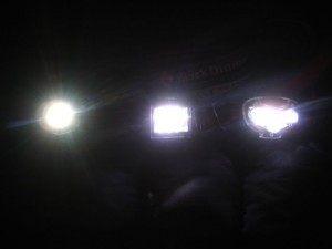 Headlamp brightness