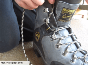 How to Lace Hiking Boots