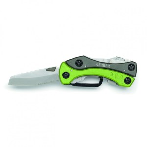 Gerber Crucial - Serrated and Straight Edge Knife