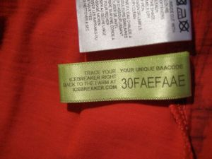 Icebreaker trace tag