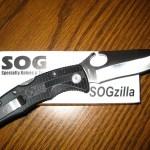 SOGzilla - one tough knife!