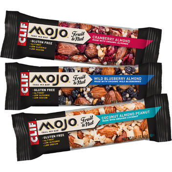 CLIF Mojo fruit and nut bars
