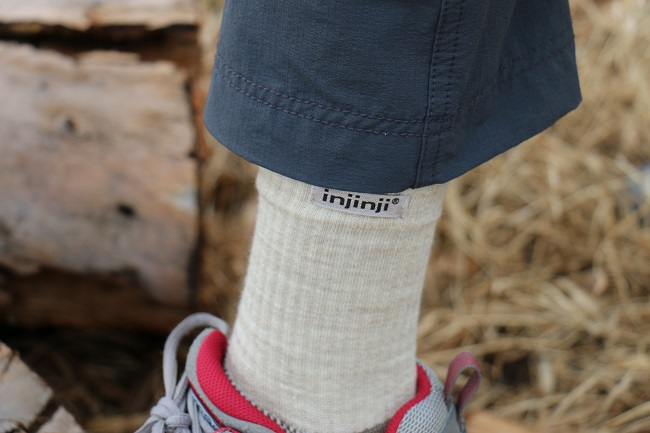 Hiking Lady testing the Injinji Outdoor 2.0 socks