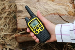 A Two-Way Radio for Hiking