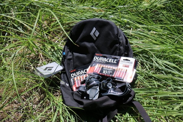 Black Diamond & Duracell pack