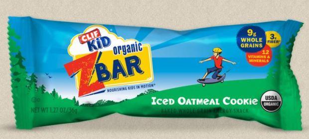 CLIF Bar Kid Organic Z Bar