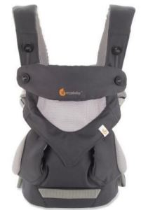 ERGObaby Four-Position 360 Cool Air Baby Carrier