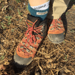 Hiking Lady testing the Injinji Liner + Hiker Sock Combo
