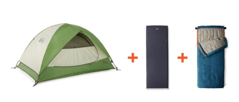 REI Co-op Camp Bundle