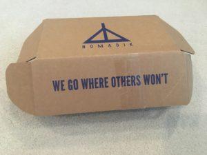 My second Nomadik subscription box