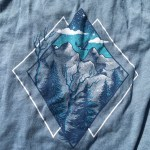 American Backcountry tee design