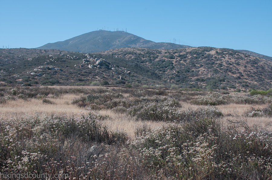 View of Mount Miguel from San Diego National Wildlife Refuge