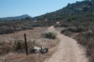 Hiking trail at San Diego National Wildlife Refuge